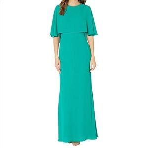 BCBGMAXAZRIA Gown (Kelly Green; size 6)